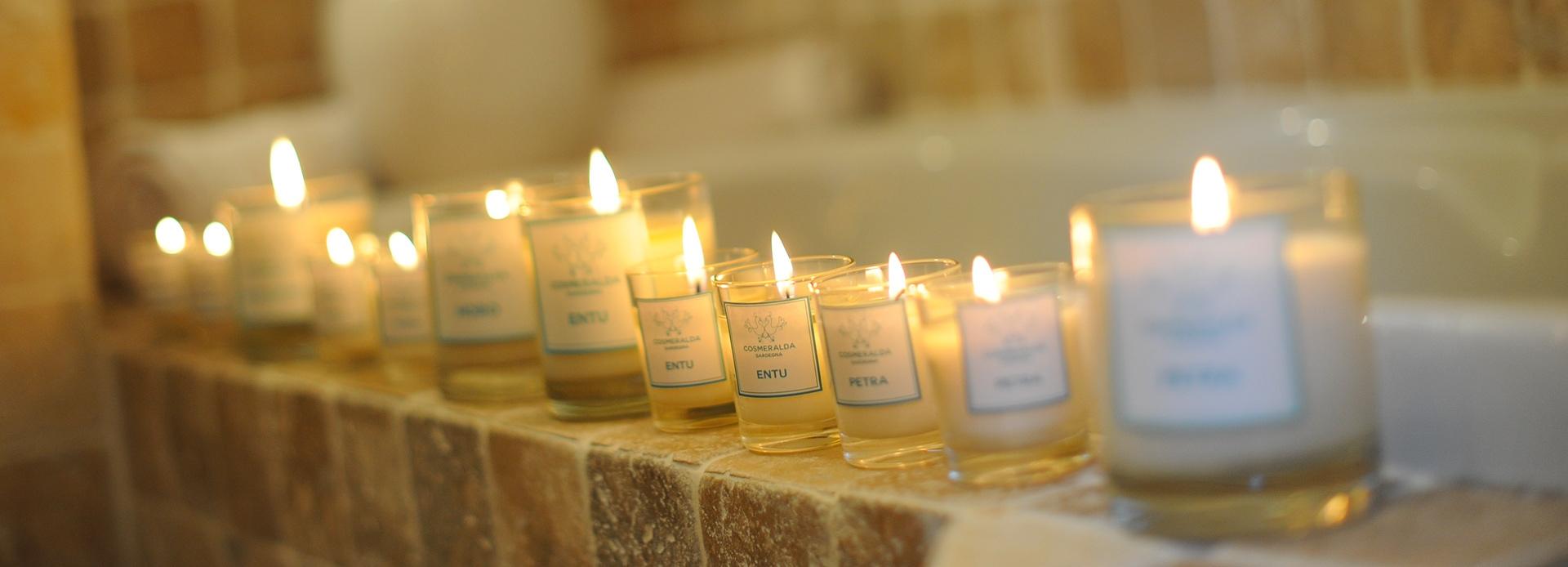 Scopri le nostre candele profumate